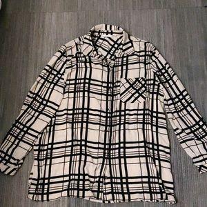 Susan Graver blouse size 16